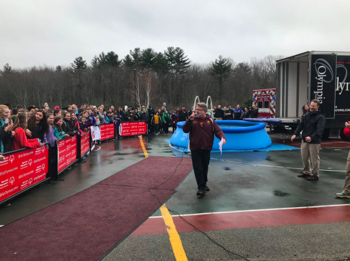 On February 15, 2018, Mr. Clark was the MC at the Polar Plunge event.