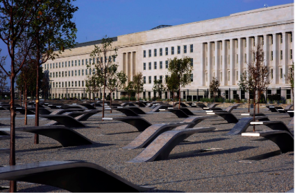 The 911 Memorial at the Pentagon