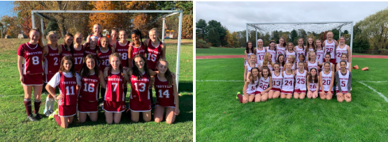 Photos of the 8th grade field hockey team and the whole field hockey team.